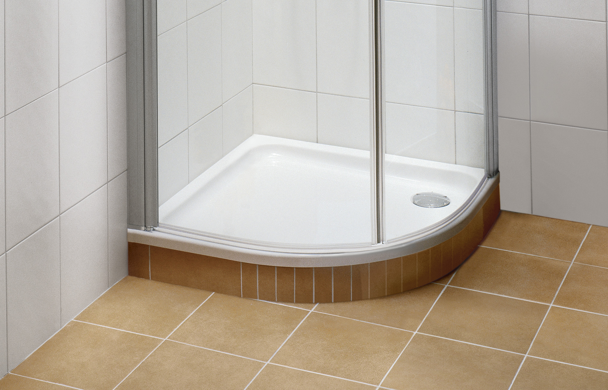 O.novo Shower tray, Shower trays (Acrylic, Quaryl), Shower trays