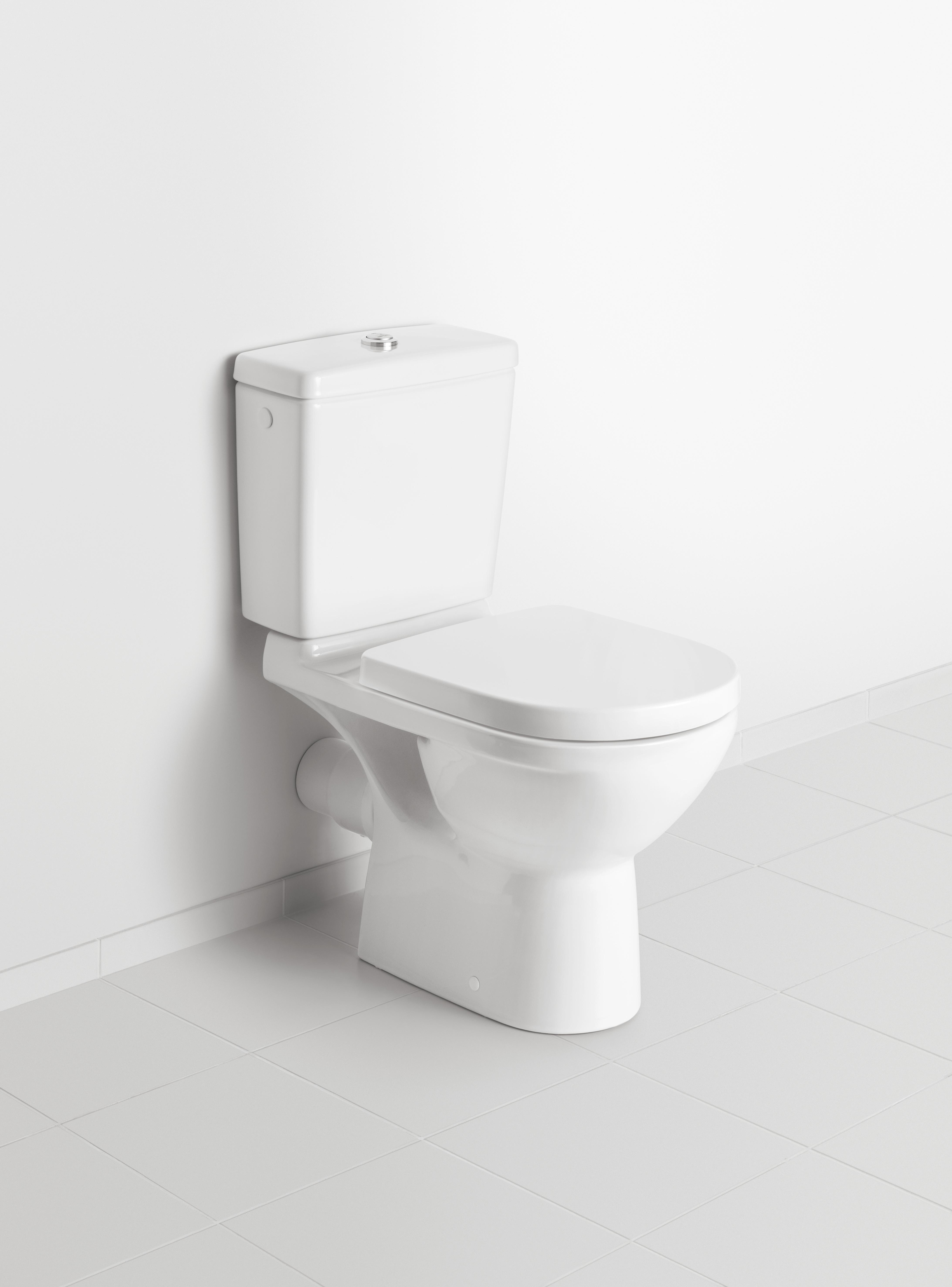 O.novo WC, WC-Kombination bodenstehend, Toiletten, Tiefspülklosett