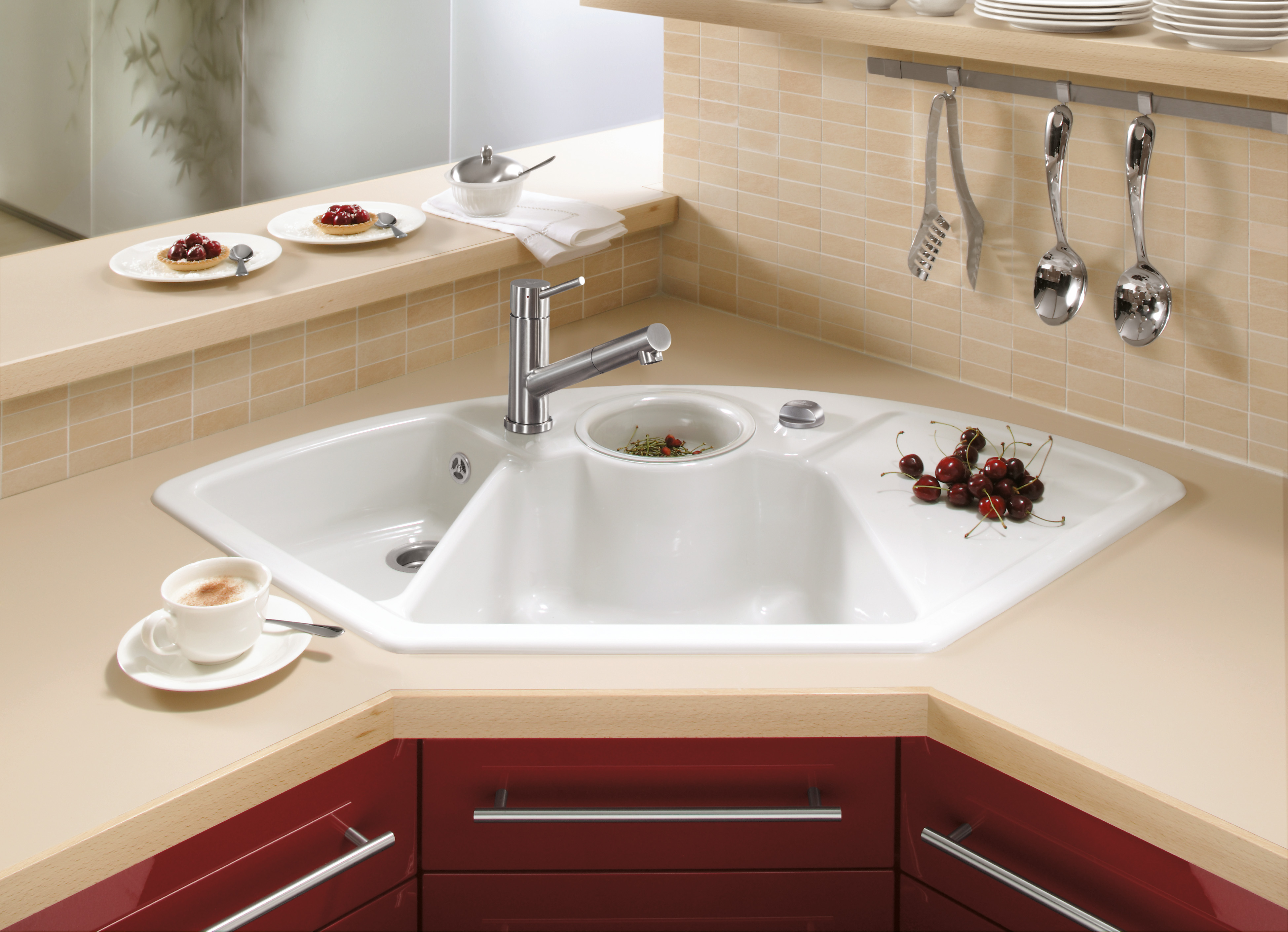 Solo Corner Butler sink, Corner sink, Corner sinks