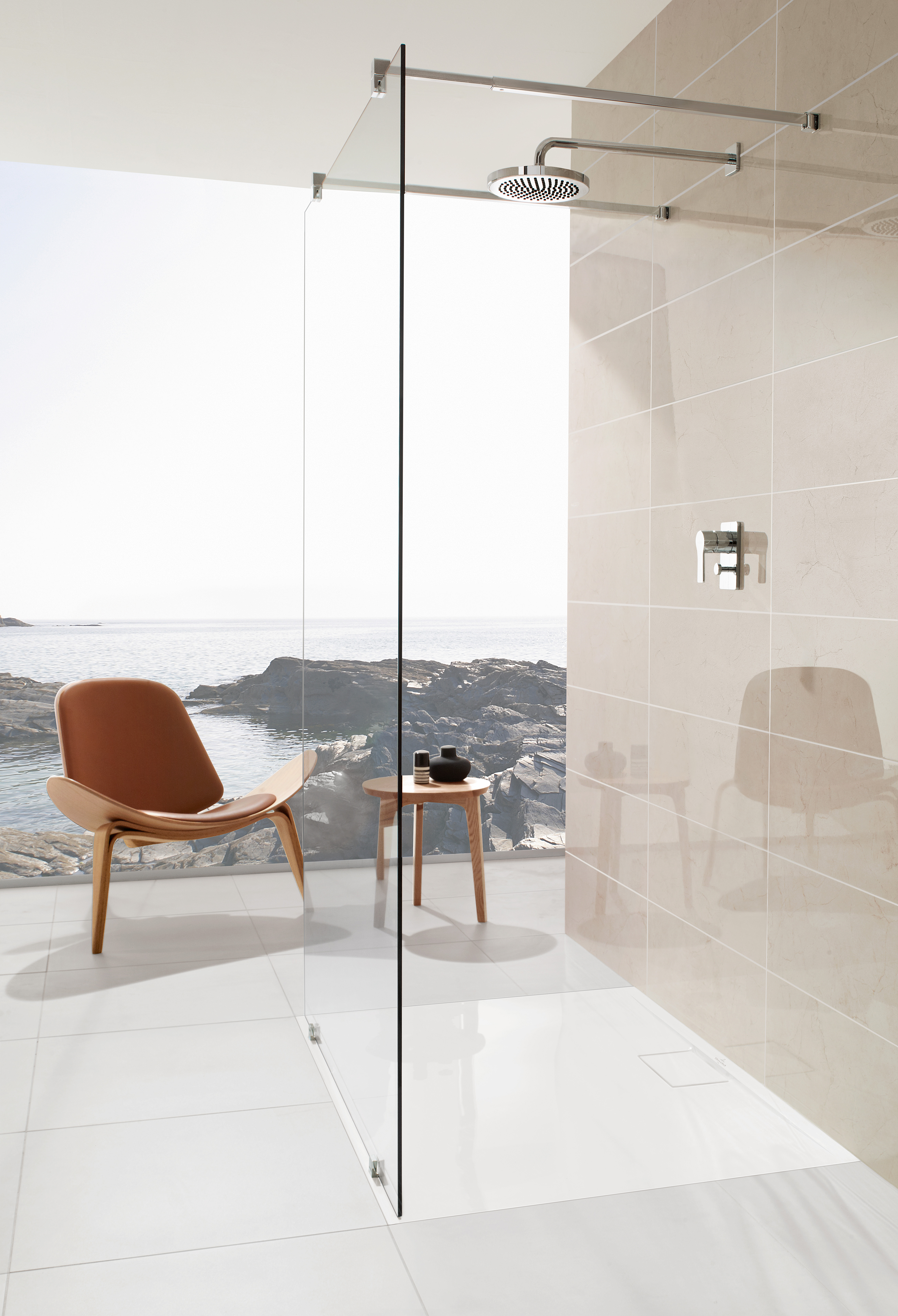 Architectura Shower tray, Shower trays (Acrylic, Quaryl), Shower trays