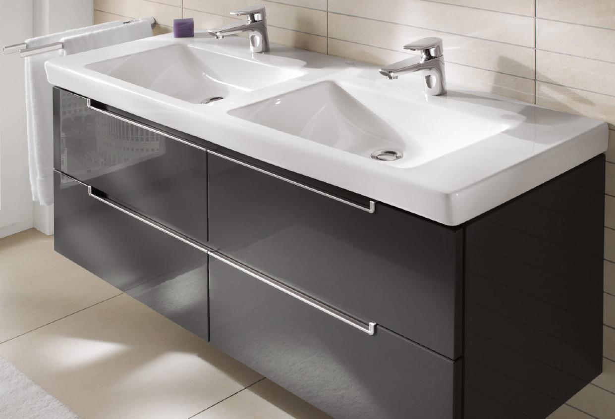 Subway Washbasins, Vanity washbasin (basin only), Double vanity sinks