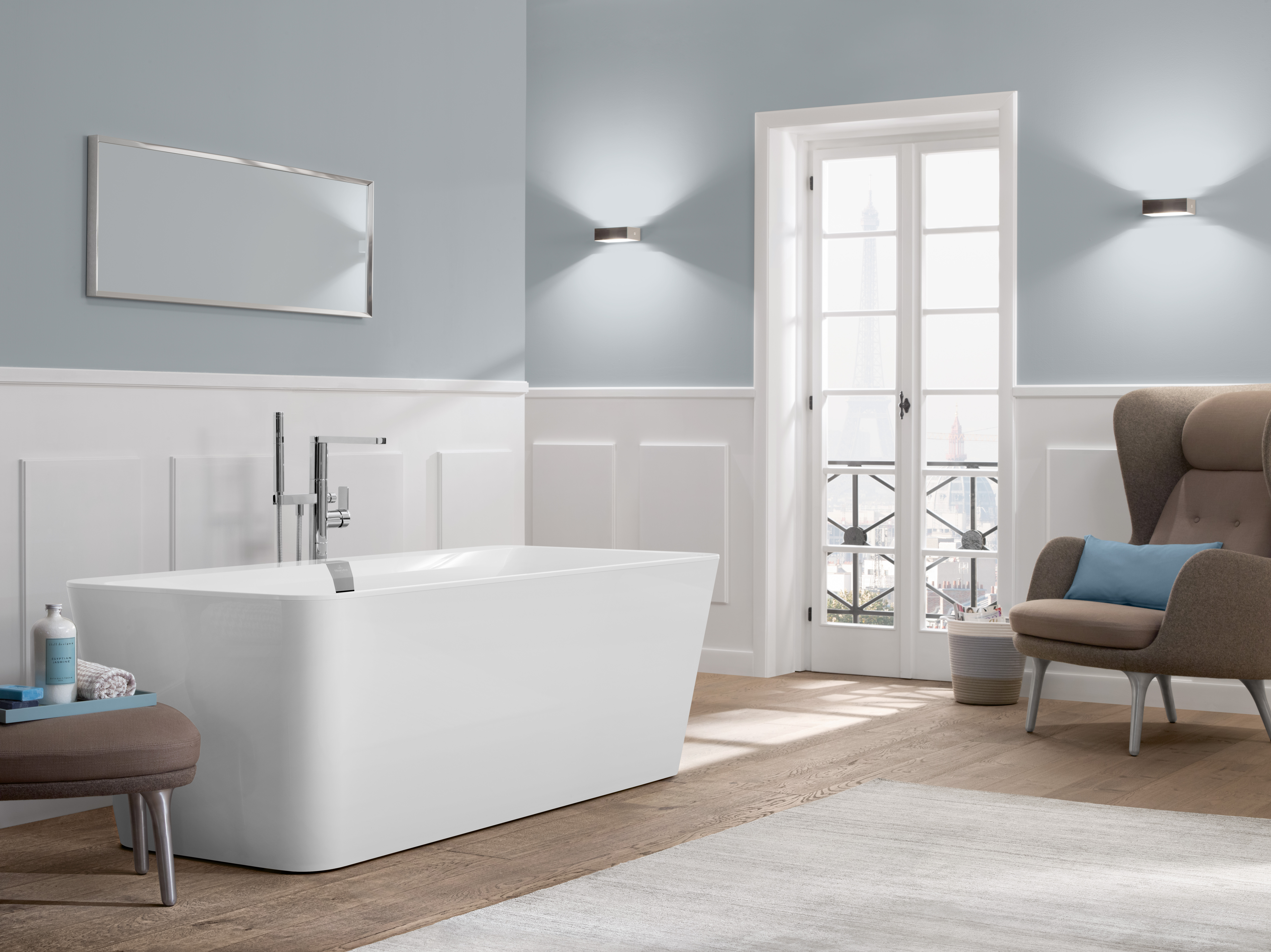 Squaro Edge 12 Bath, Baths, Free-standing baths