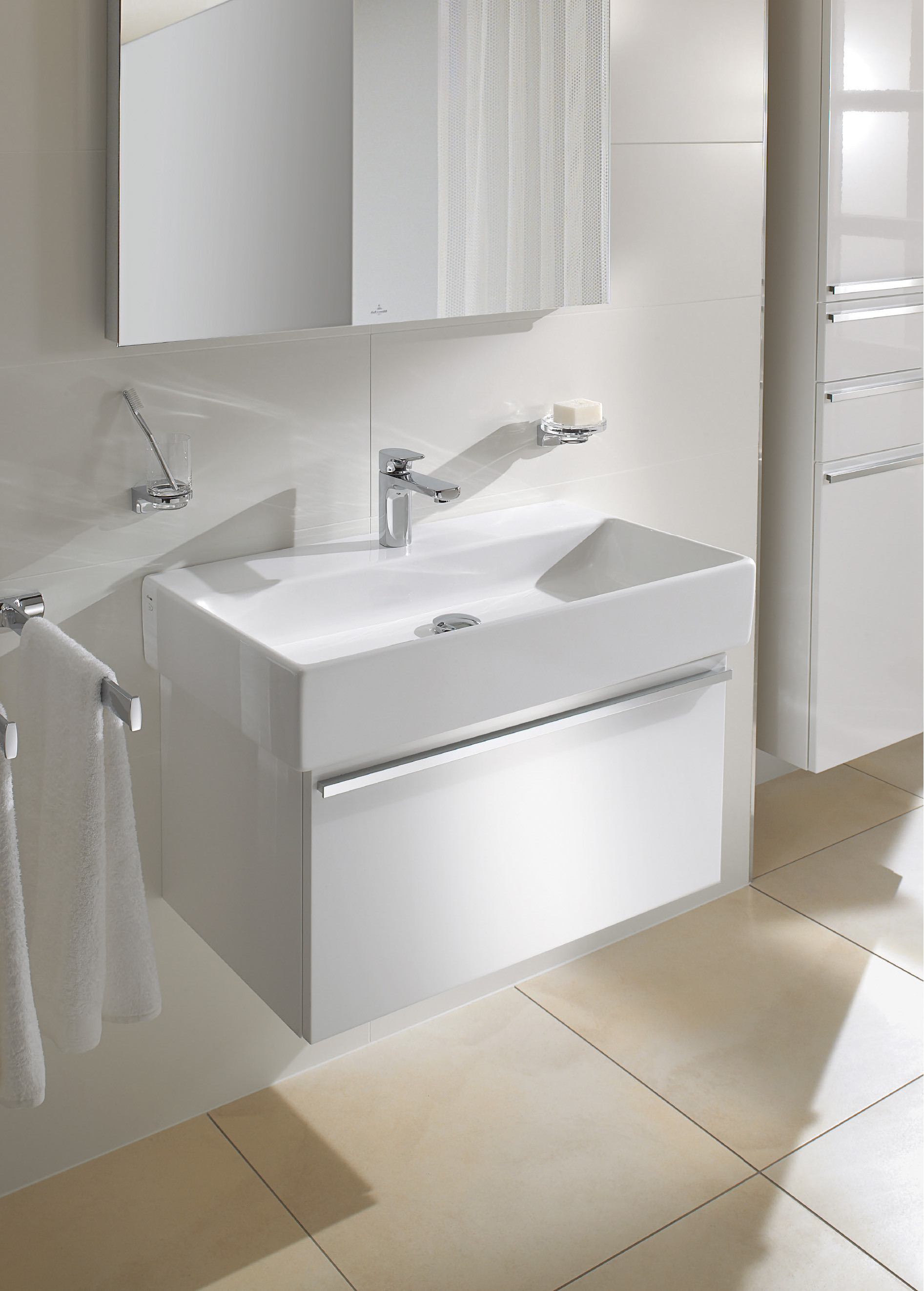 Central Line Bathroom furniture, Vanity unit for washbasin, Vanity units