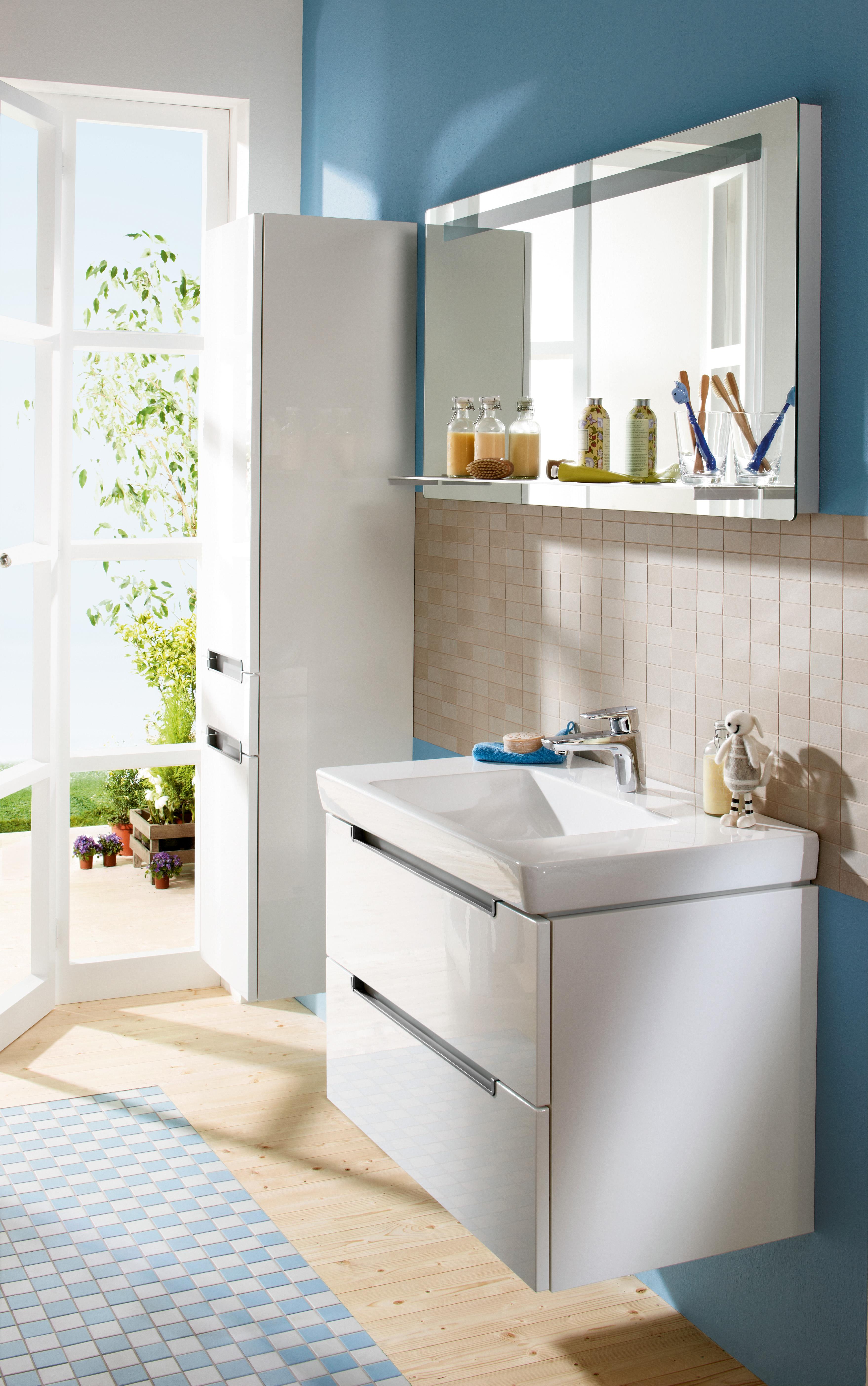 Subway 2.0 Bathroom furniture, Vanity unit for washbasin, Bathroom sink cabinets