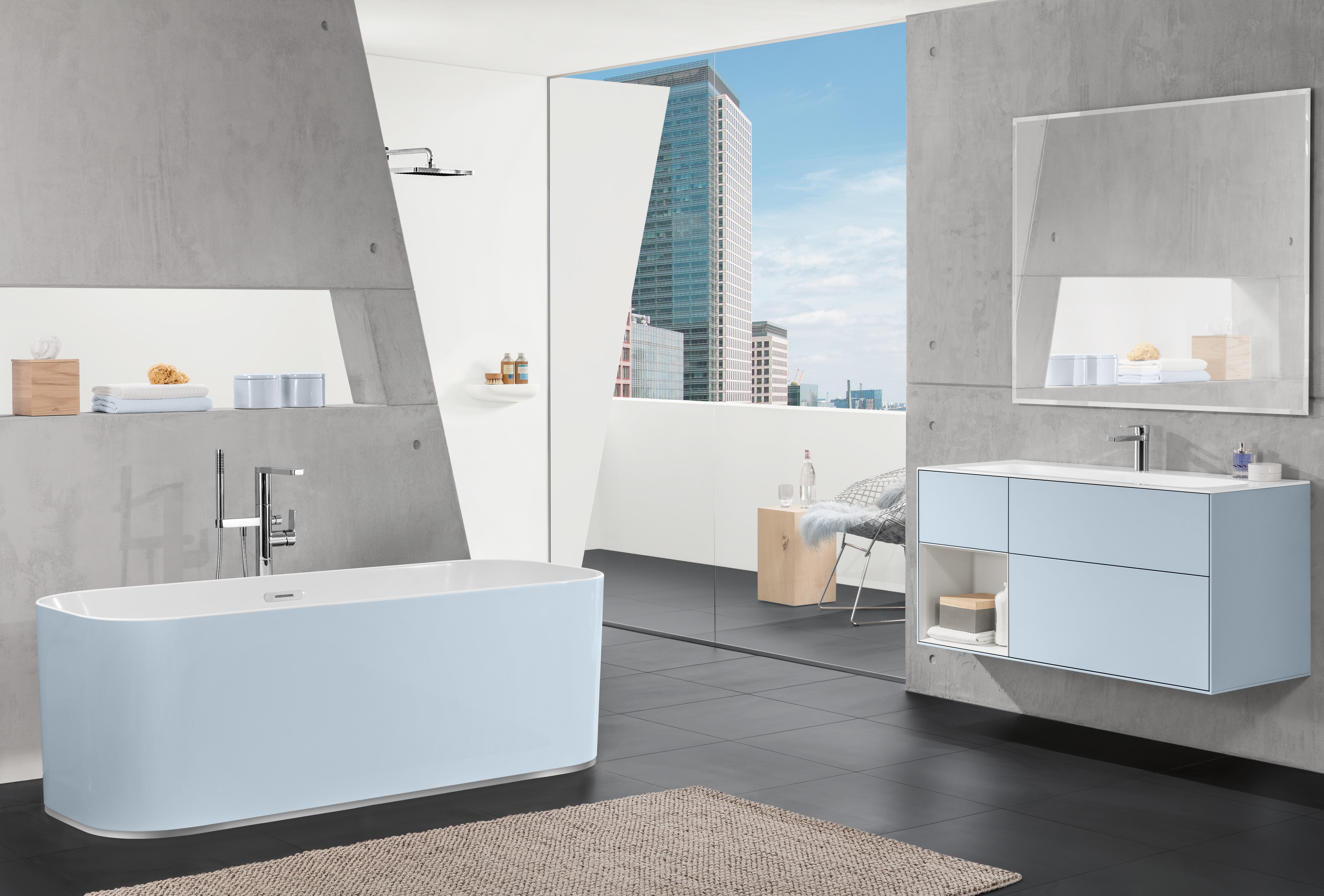 Finion Bath, Baths, Free-standing baths