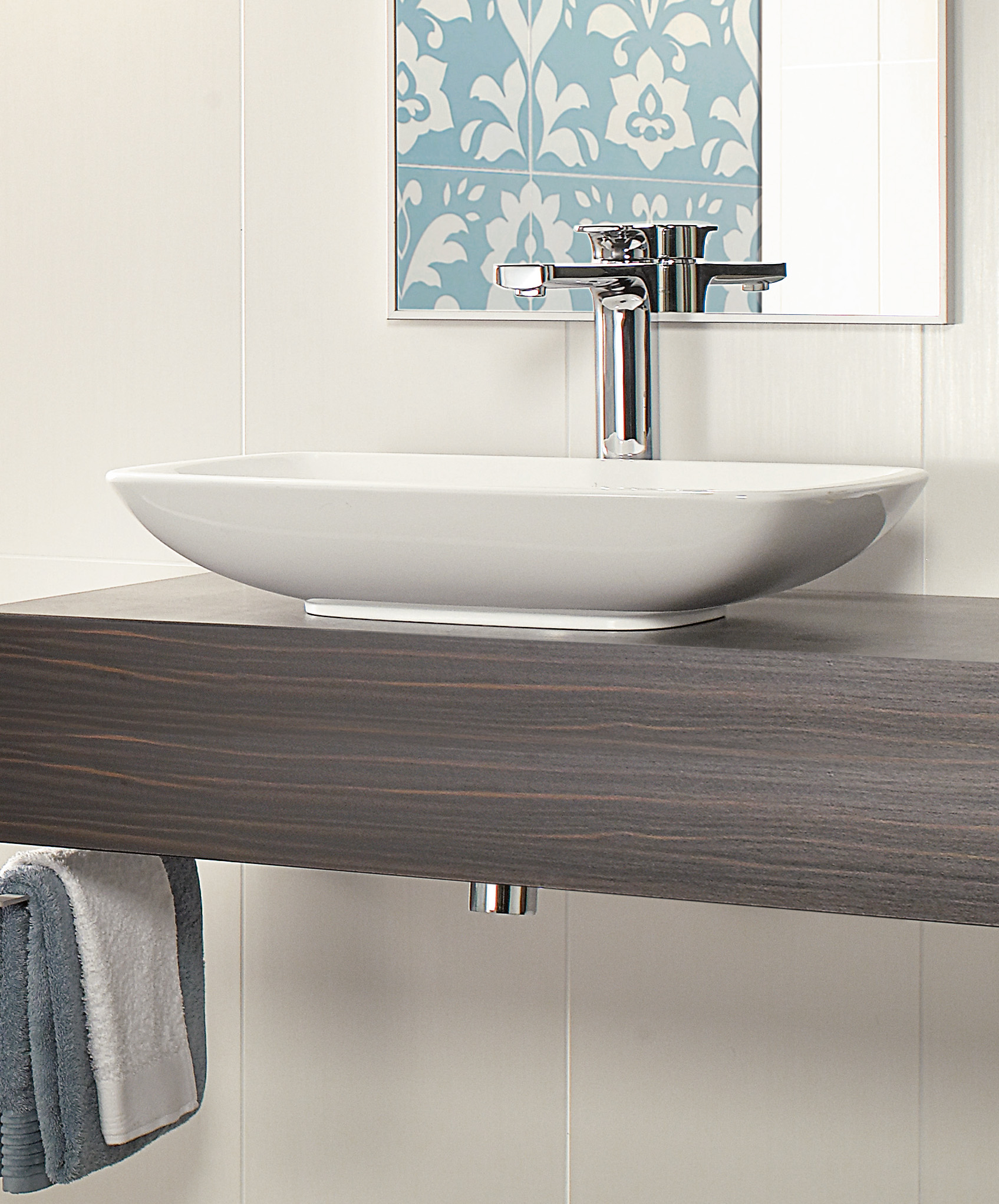 Loop & Friends Washbasin, Surface-mounted washbasin, Washbasins, Surface-mounted washbasins