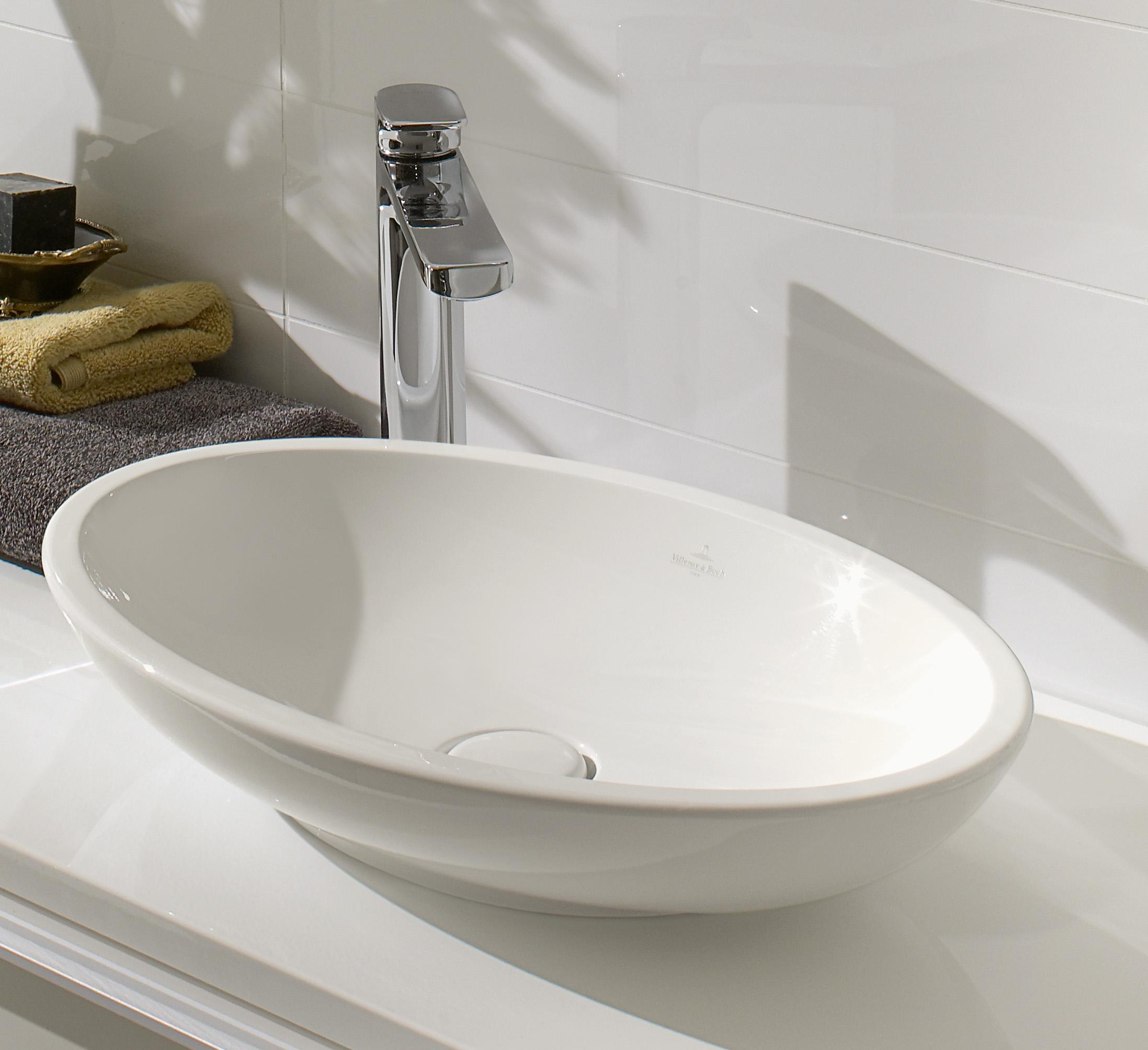 Loop & Friends Washbasins, Surface-mounted Washbasin, Surface-mounted washbasins