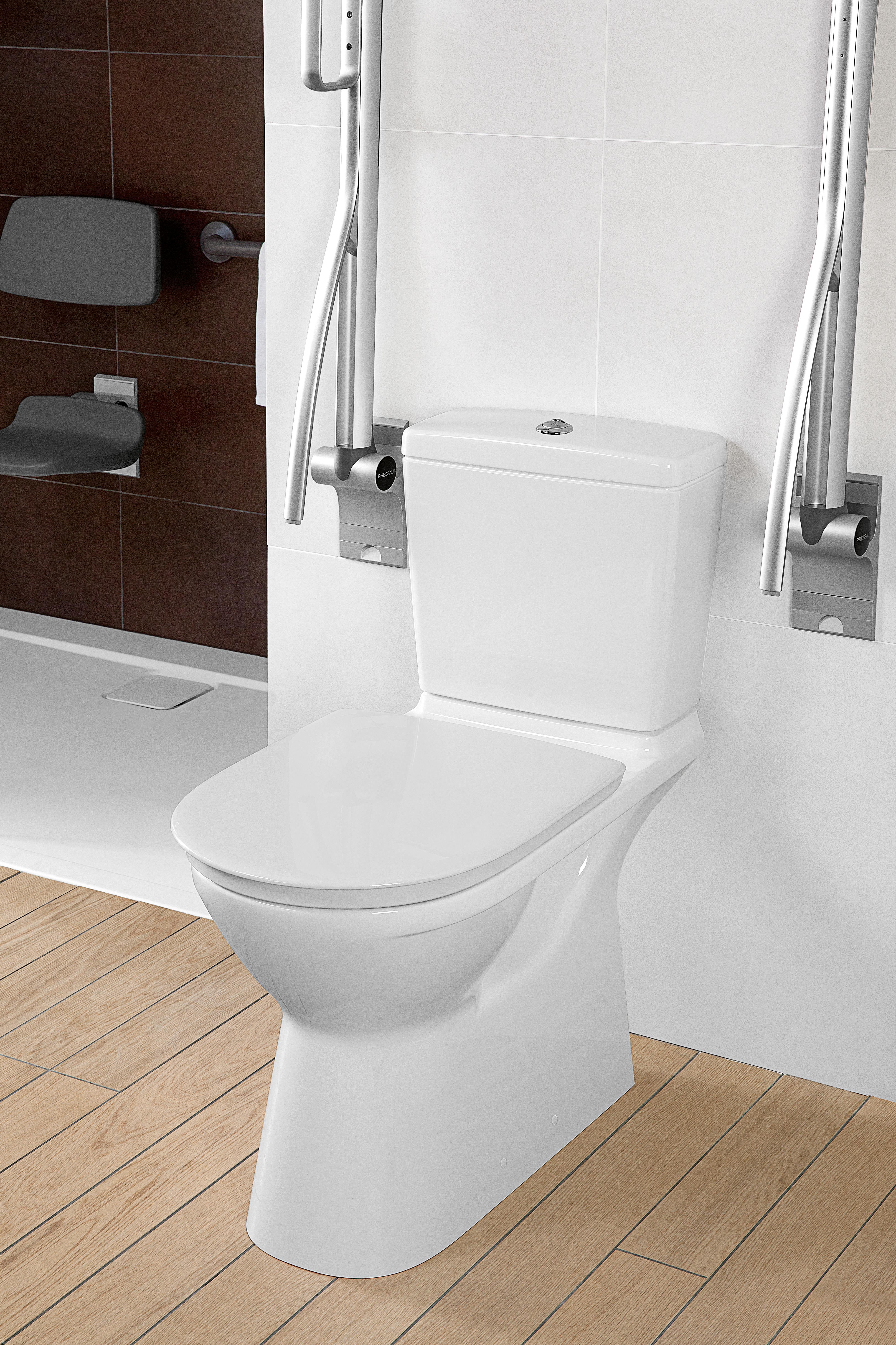 O.novo Vita Miski WC, Miski wc kompaktowe stojace, Miska ustępowa lejowa