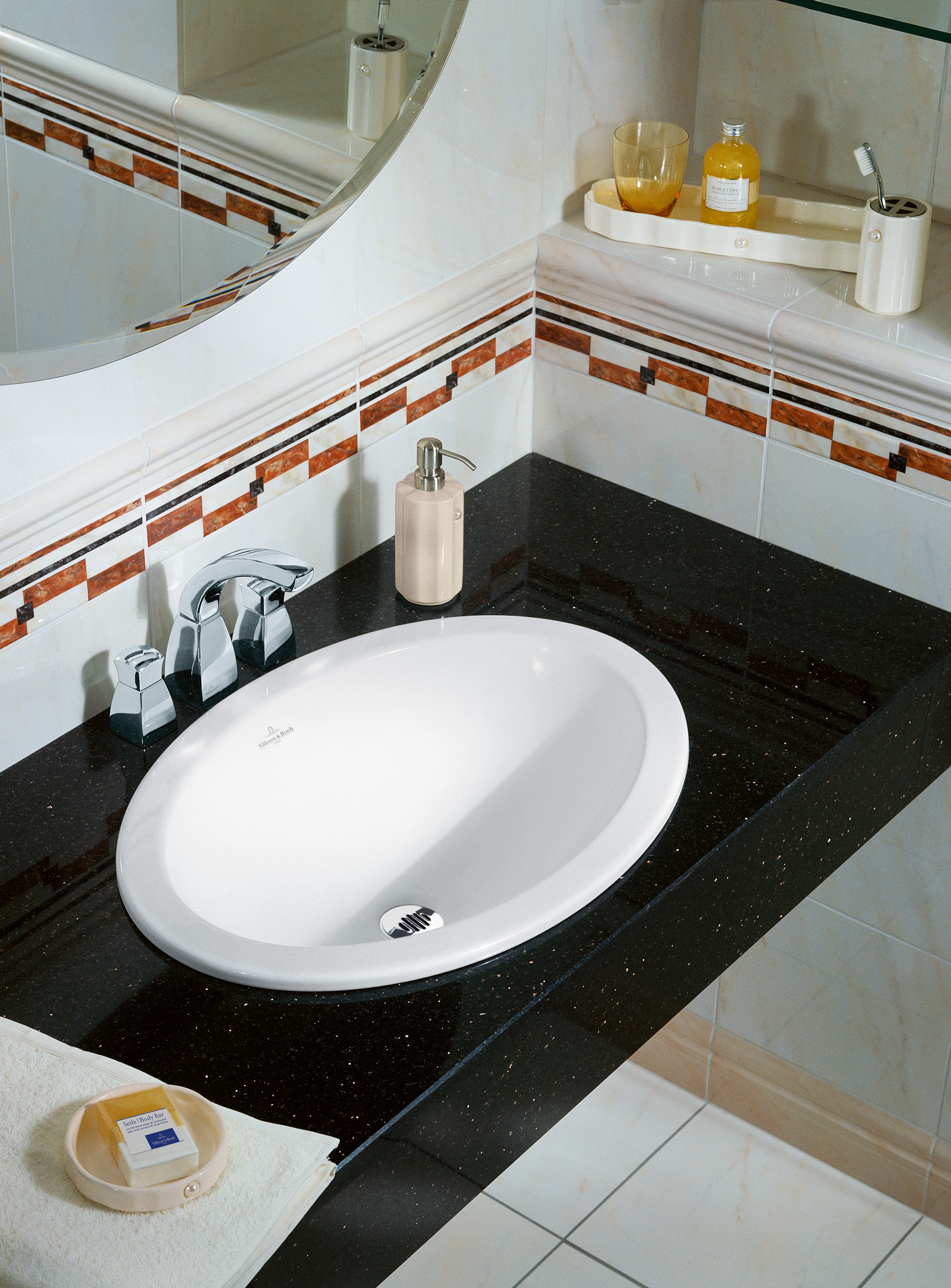 Loop & Friends Washbasin, Built-in washbasin, Washbasins, Built-in washbasins