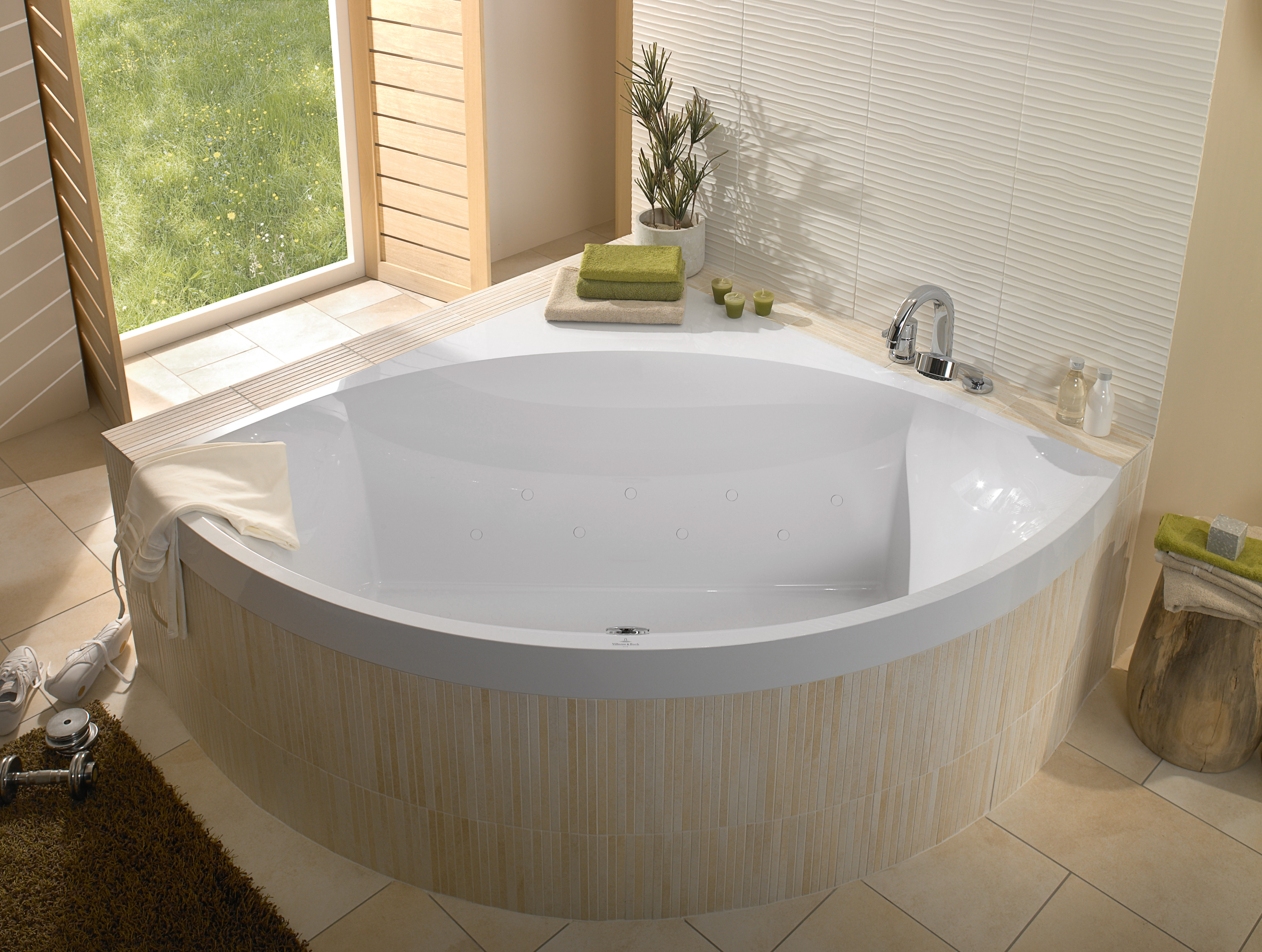 Squaro Bath, Baths, Corner baths