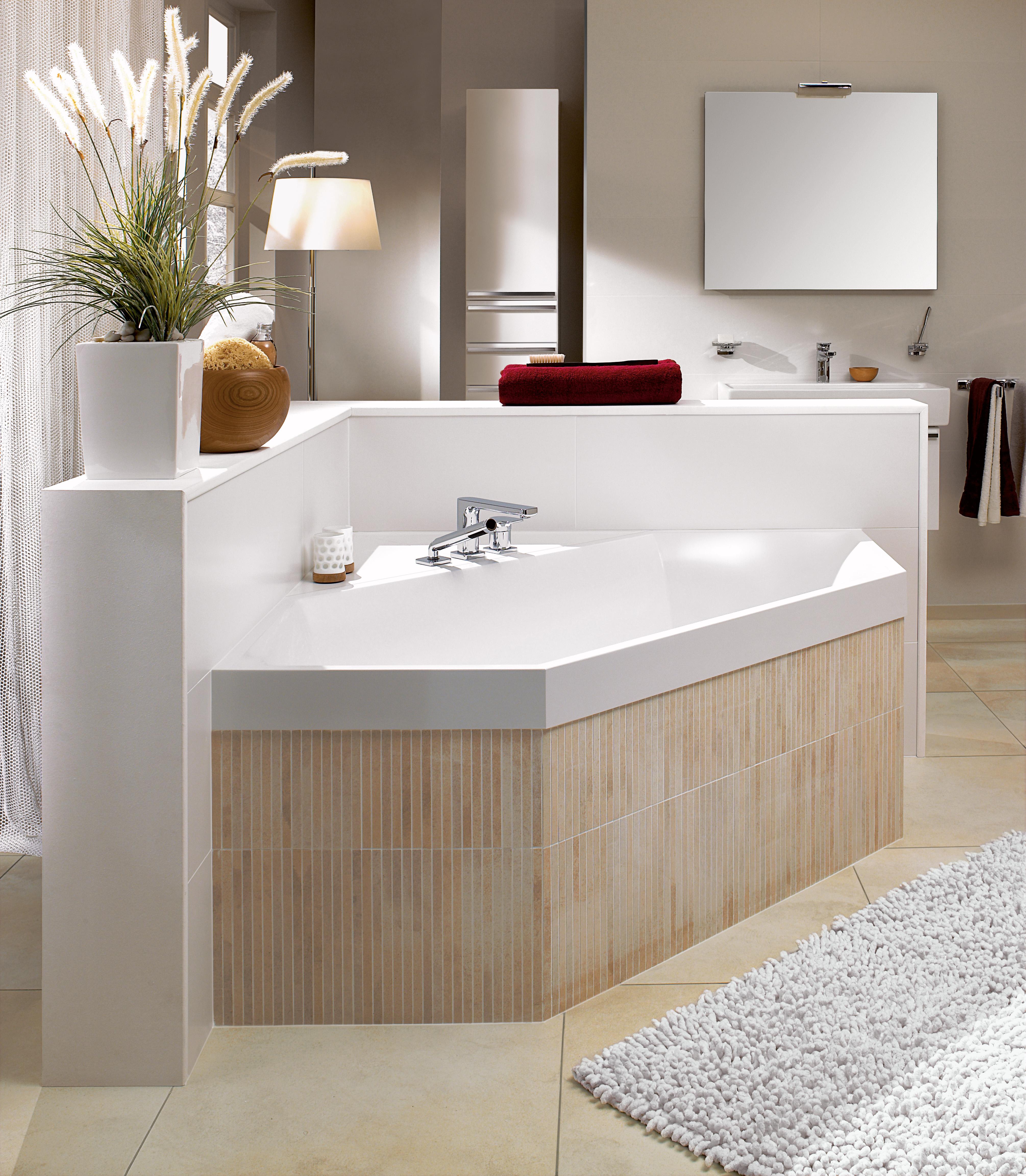 Squaro Bath, Baths, Hexagonal baths