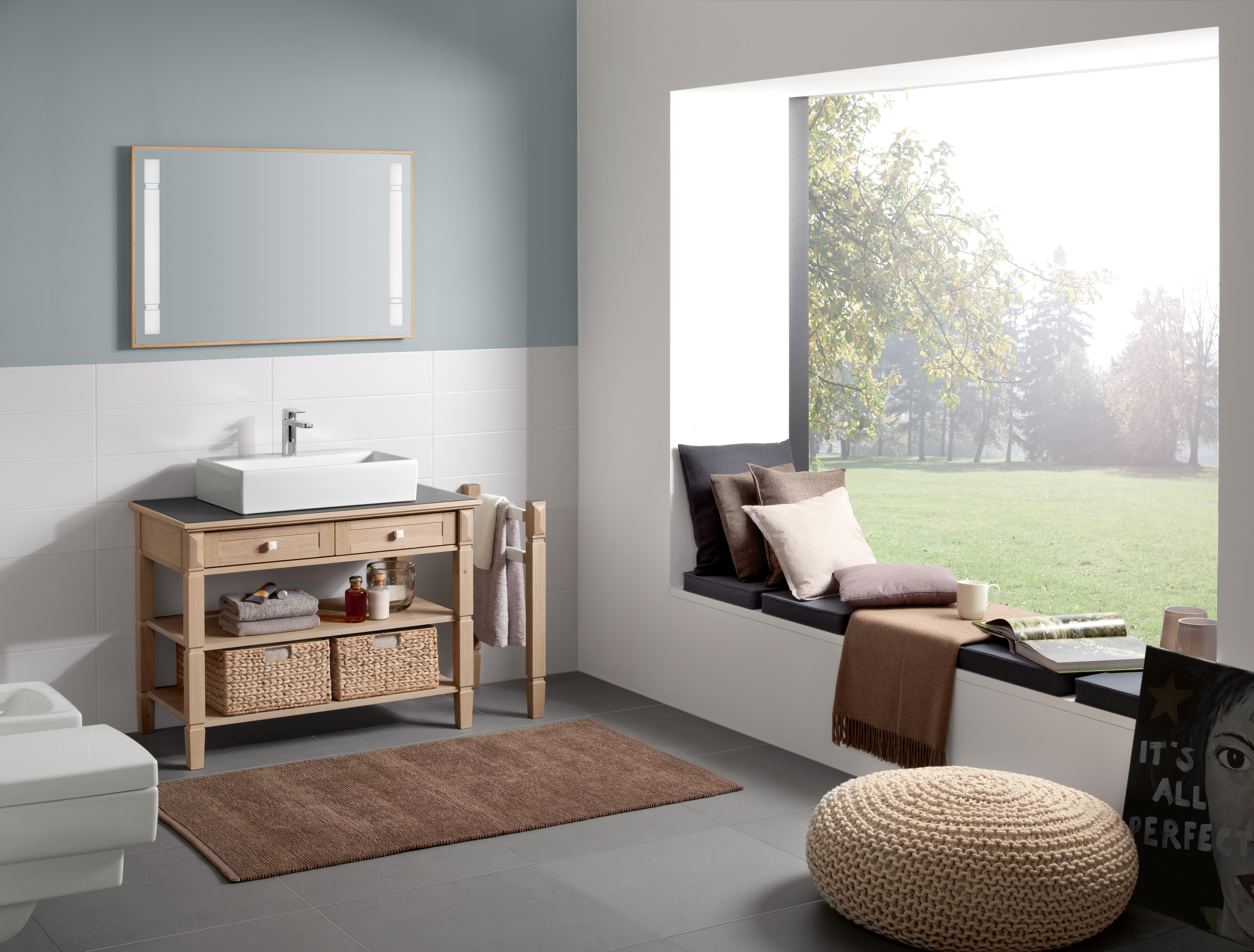 Memento Washbasin, Surface-mounted washbasin, Washbasins, Surface-mounted washbasins