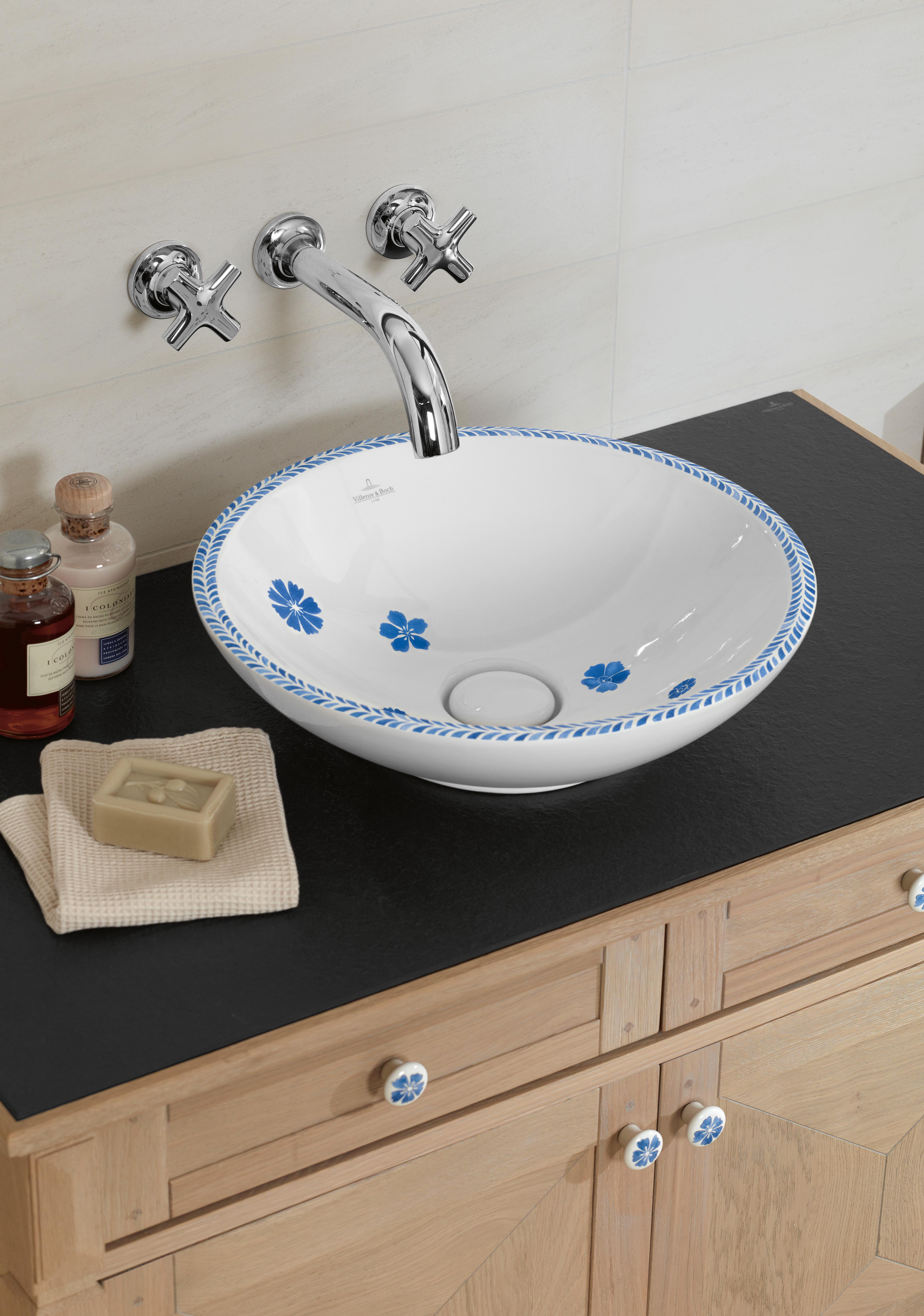 Loop & Friends Washbasin, Surface-mounted washbasin, Washbasins, Surface-mounted washbasins