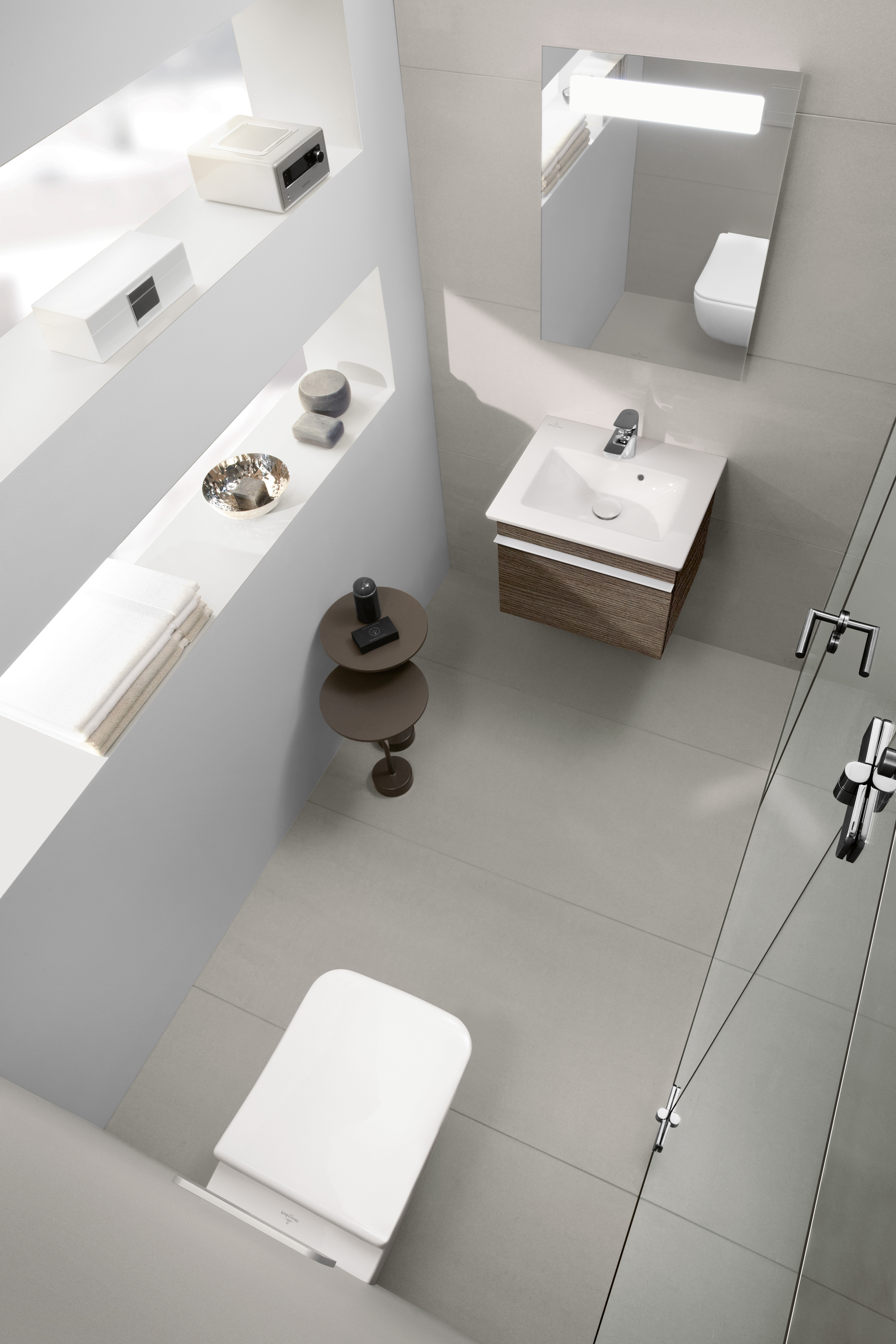 Venticello WC, Wall-mounted WC, Toilets, Washdown WC