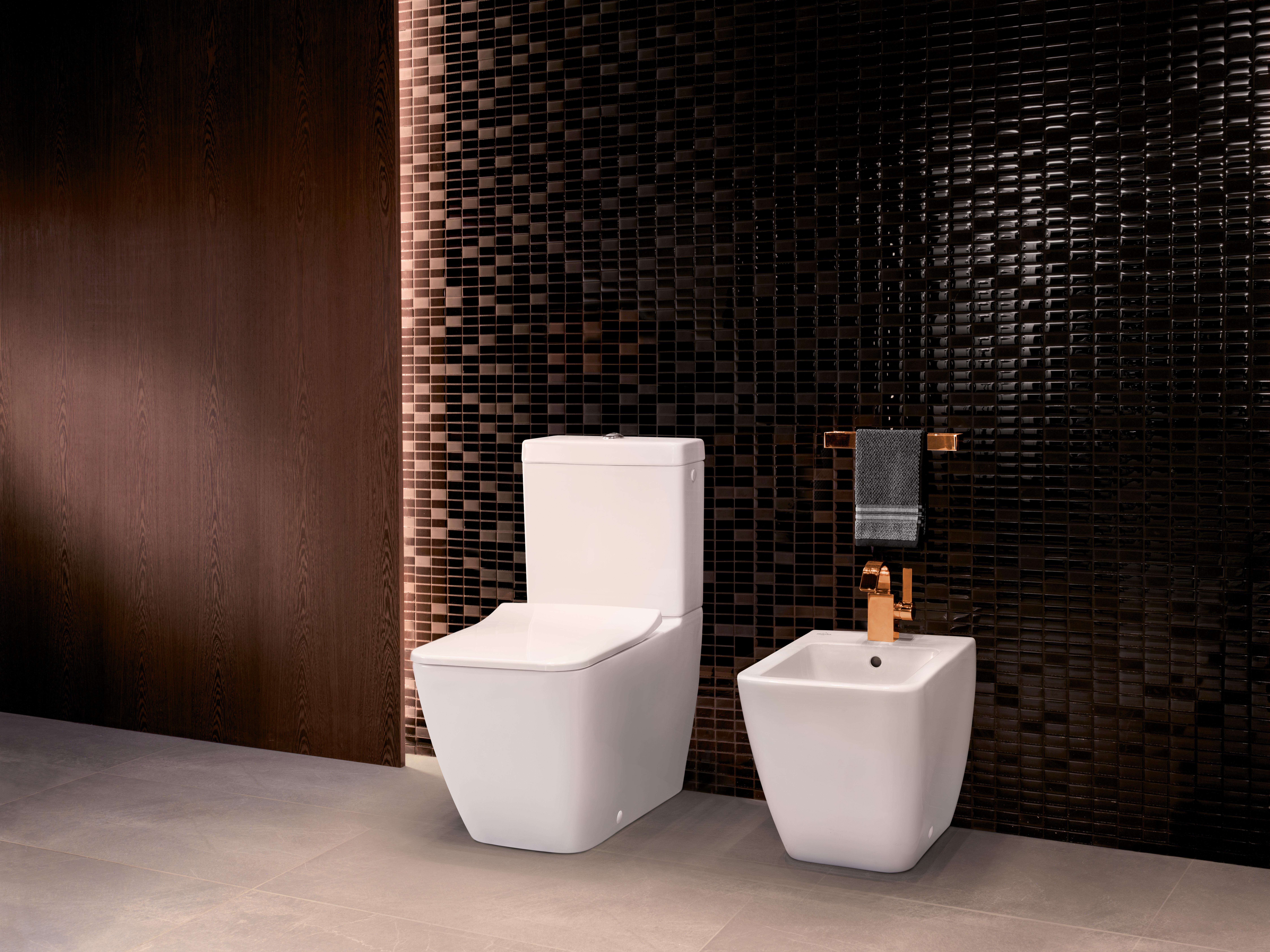 Venticello WC, WC-Kombination bodenstehend, Toiletten, Tiefspülklosett