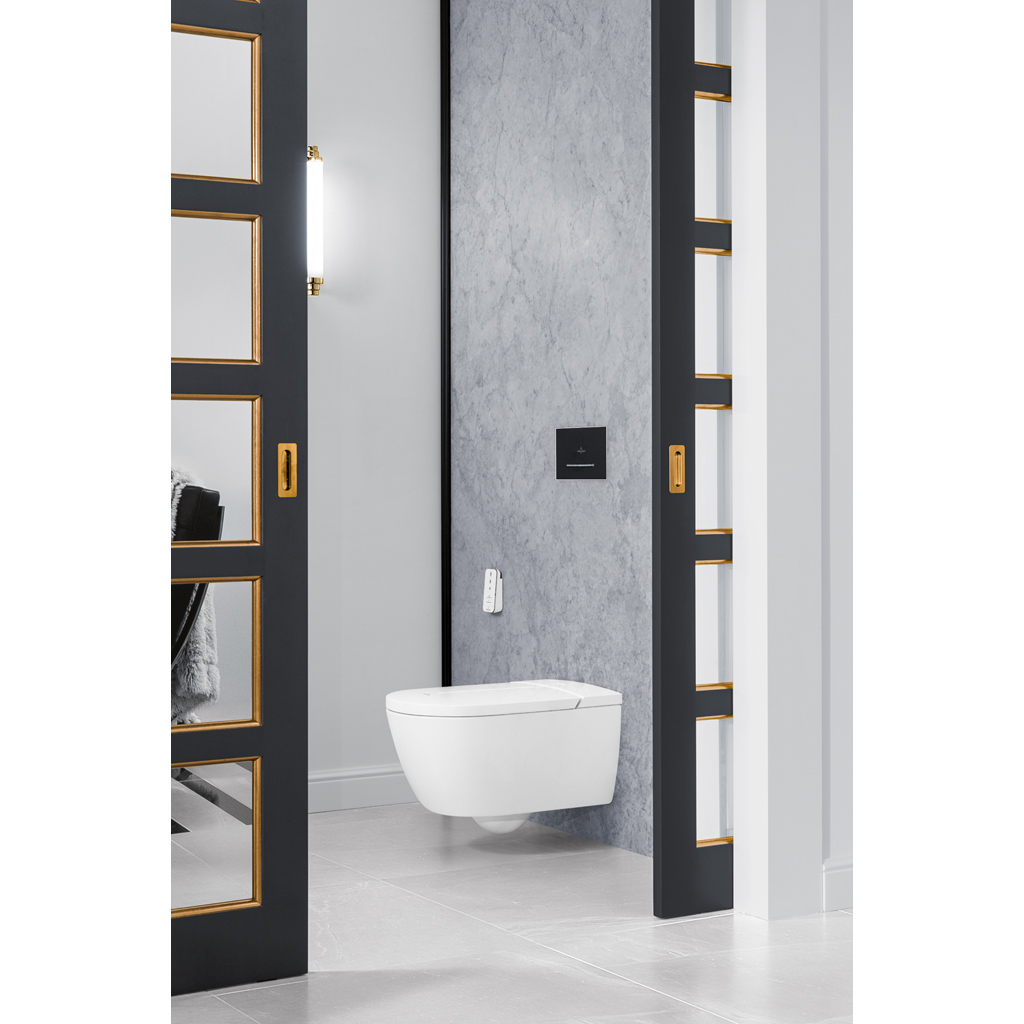 viclean dusch wc tiefsp lklosett sp lrandlos v0e100 villeroy boch. Black Bedroom Furniture Sets. Home Design Ideas