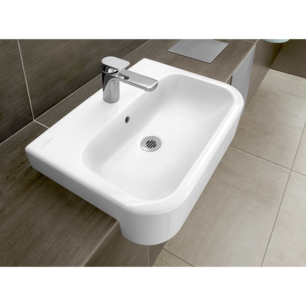 Architectura Washbasin, Semi-recessed washbasin, Washbasins, Semi-recessed washbasins