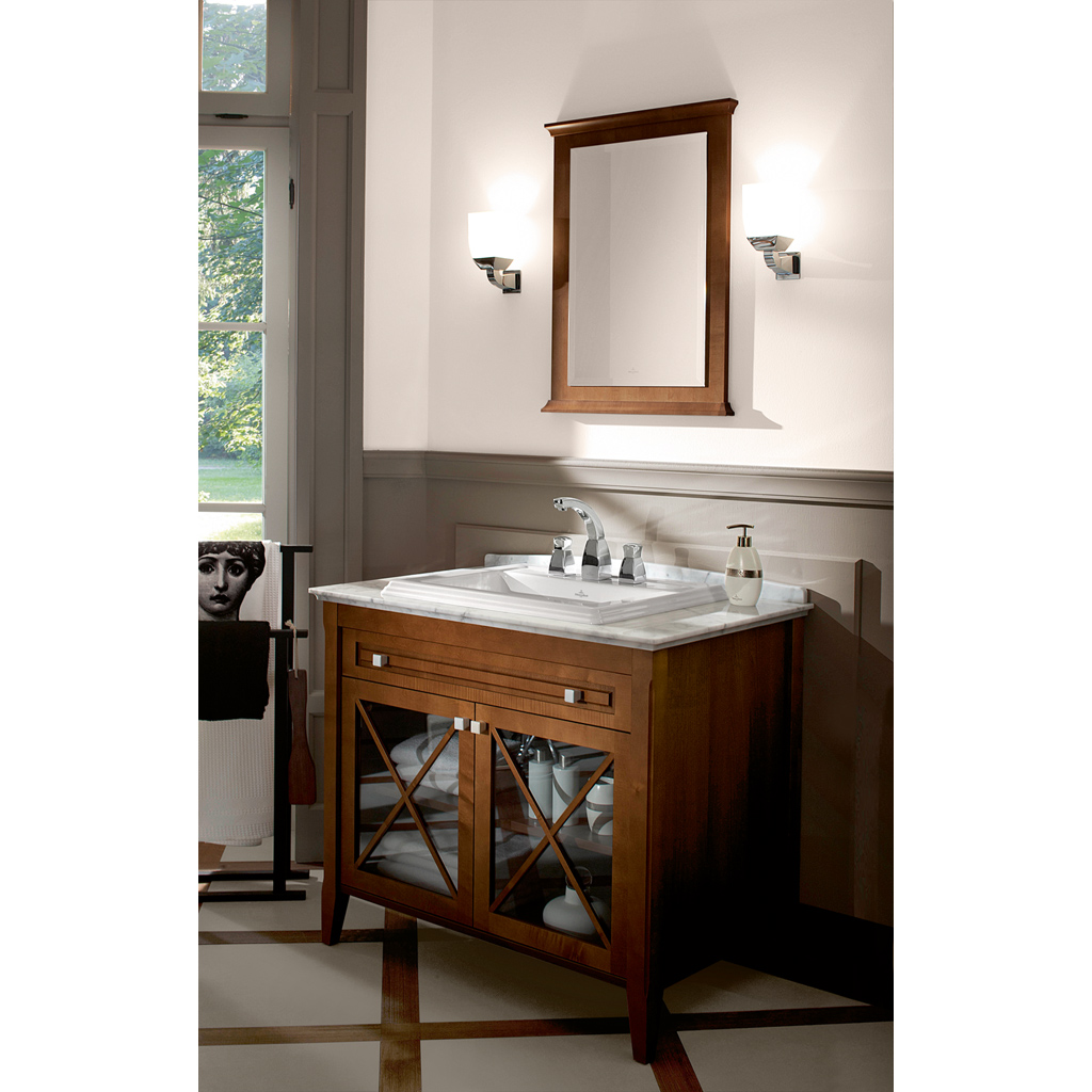 Hommage Washbasin, Built-in washbasin, Washbasins, Built-in washbasins