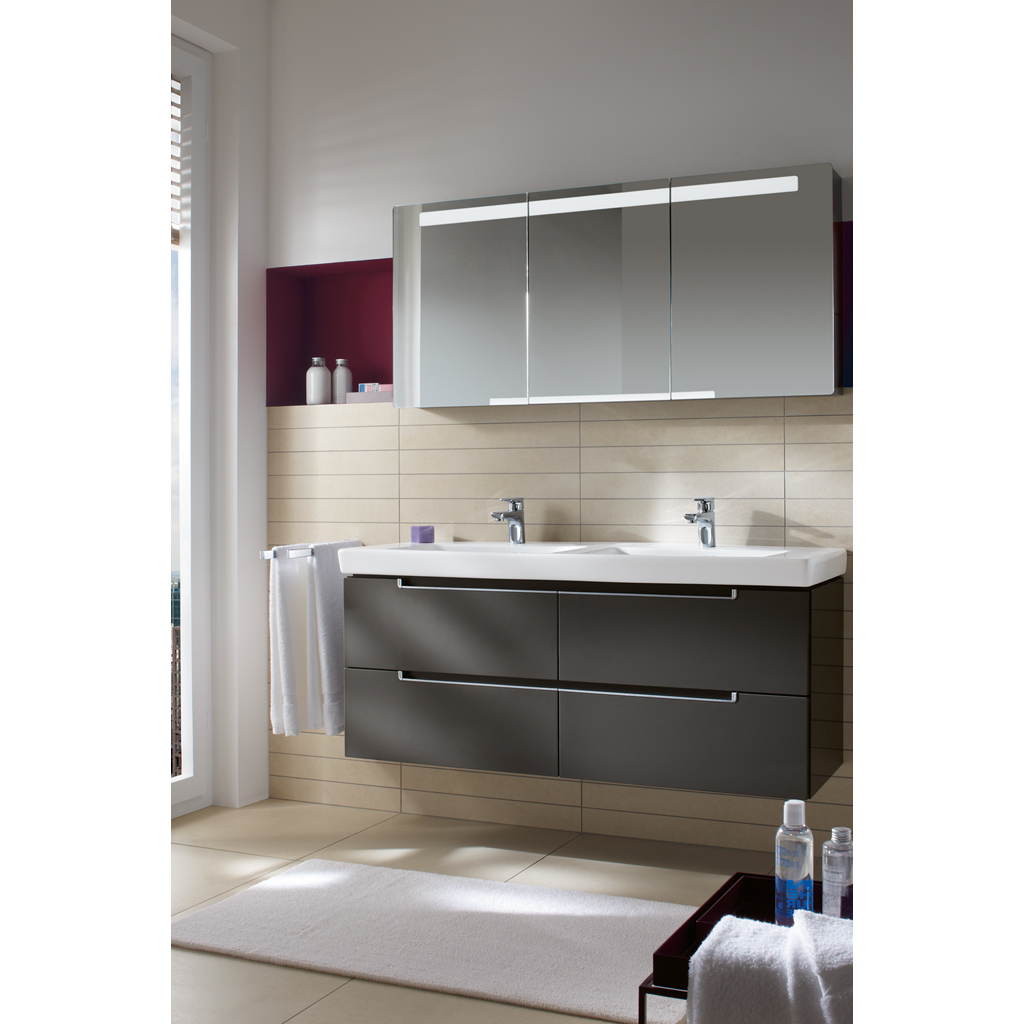 Subway 2.0 Washbasin, Vanity washbasin, Washbasins, Double sinks