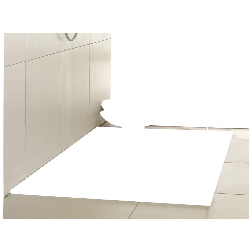 Futurion Flat Shower tray, Shower trays (Acrylic, Quaryl), Shower trays