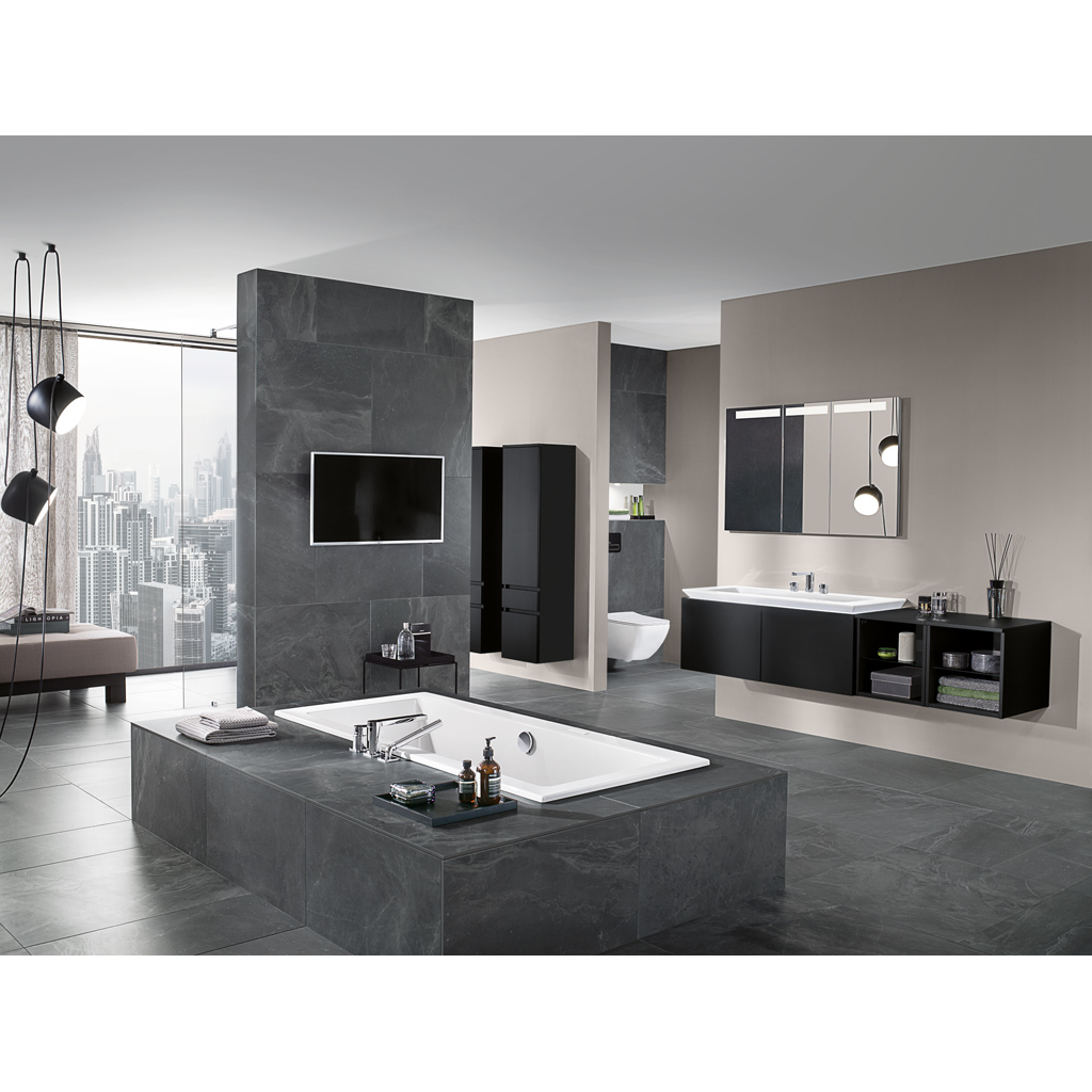 Legato Bath, Baths, Square baths