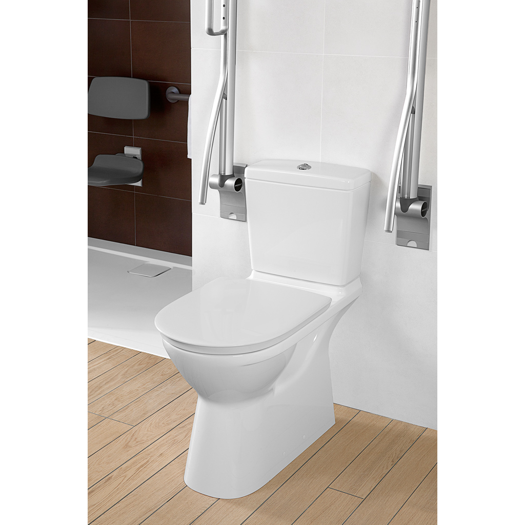 O.novo Vita WC, Floor-standing close-coupled WC-suites, Toilets, Washdown WC