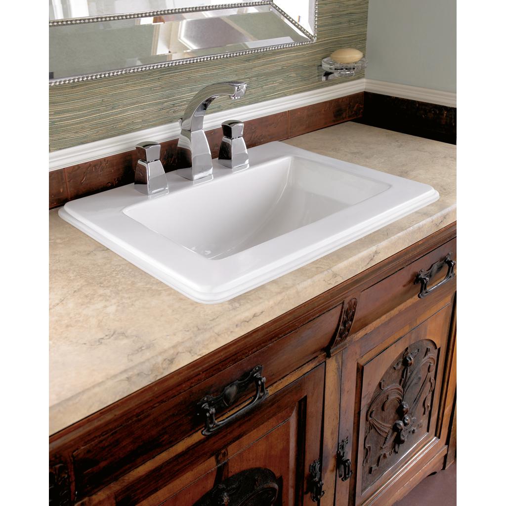 Strada Washbasins, Drop-in washbasin, Built-in washbasins