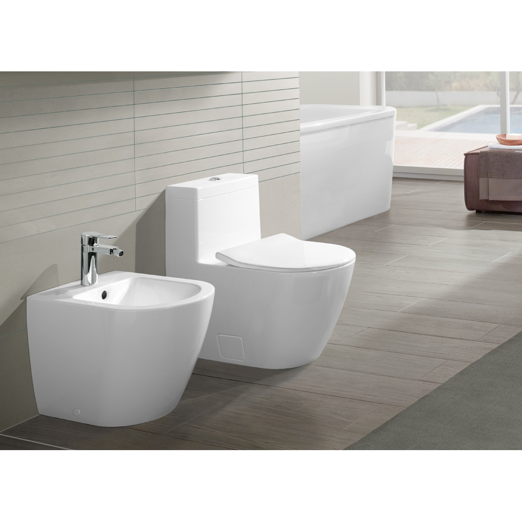 subway 2 0 bidet 540100 villeroy boch. Black Bedroom Furniture Sets. Home Design Ideas