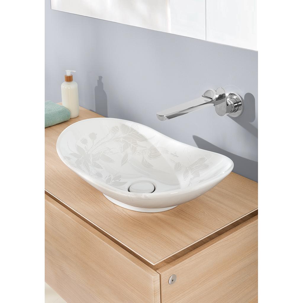 my nature aufsatzwaschtisch oval 411060 villeroy boch. Black Bedroom Furniture Sets. Home Design Ideas