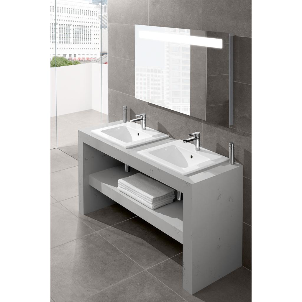 venticello waschtisch eckig 4124g6 villeroy boch. Black Bedroom Furniture Sets. Home Design Ideas
